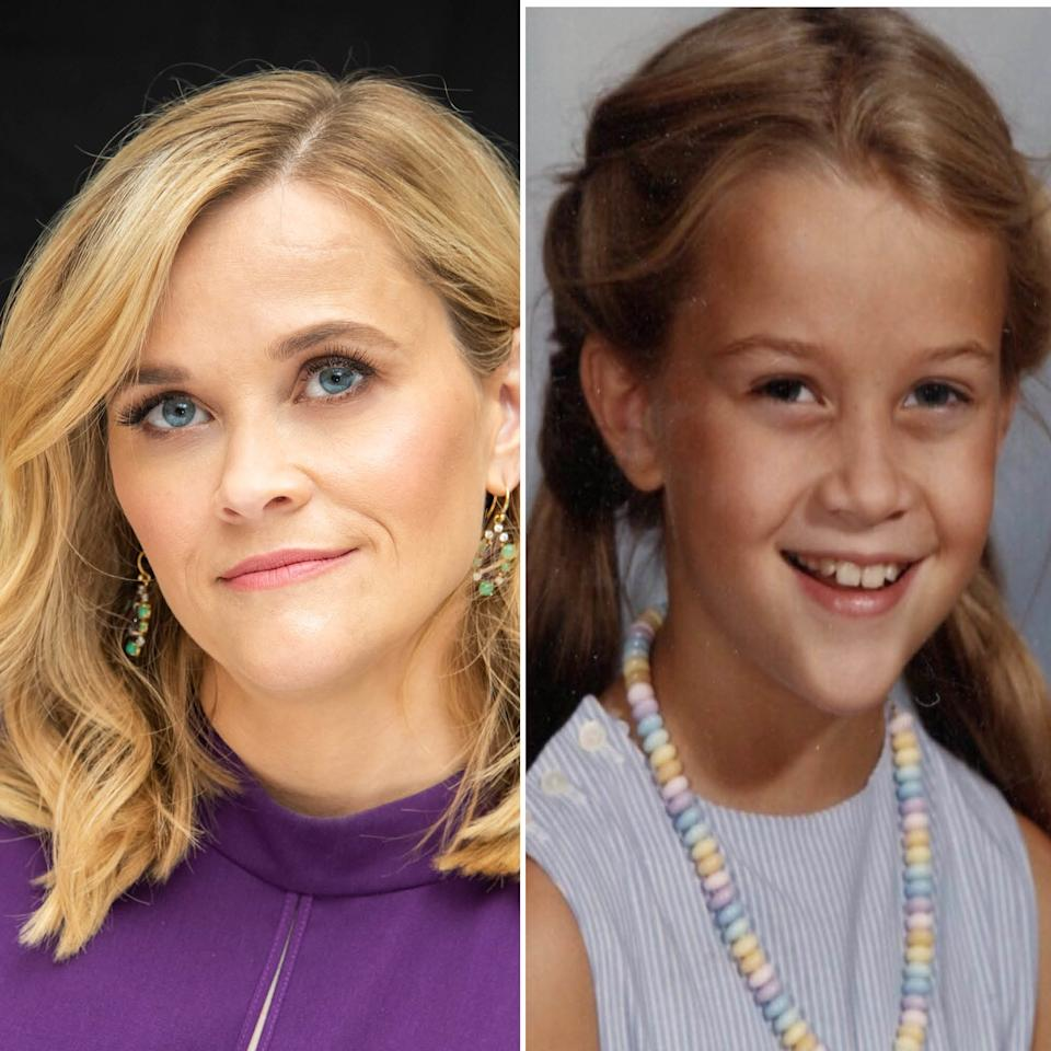 "Prepare to be shocked: Reese Witherspoon is not <a href=""https://www.allure.com/story/reese-witherspoon-natural-hair-color-photos?mbid=synd_yahoo_rss""><em>really</em> legally blonde</a>. The actress shared this adorable throwback of herself revealing that she was born with a light-brown color. We don't see Witherspoon going back to her roots anytime in the near future, but if she does, we'd be into it."