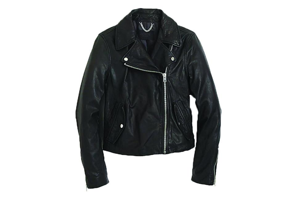 J.Crew Washed Leather Motorcycle Jacket (Photo: J.Crew)