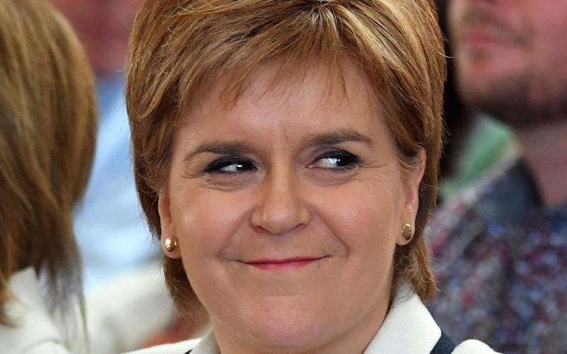 Nicola Sturgeon accused of obsession with independence - AFP or licensors