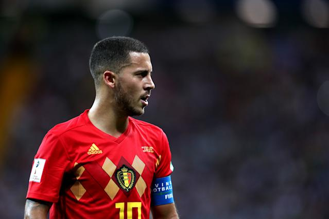 Eden Hazard correctly predicted one half of the World Cup draw