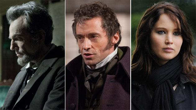 SAG Award nominees 'Lincoln,' 'Les Miserables' & 'Silver Linings Playbook'