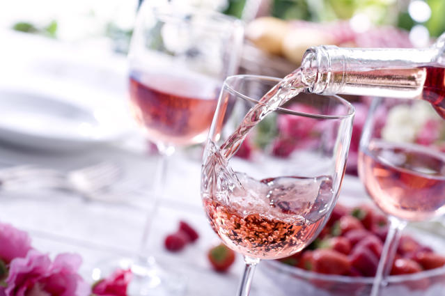 This is where to buy the best rose wine online. (Getty Images)