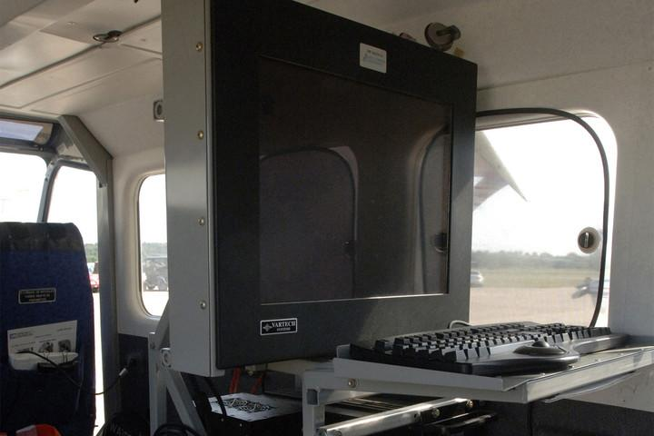 Installed in Civil Air Patrol Aircraft throughout the country, the ARCHER system provides support during search and rescue operations by using geoscience to distinguish variations in the terrain and vegetation, and with as little as 10 percent of a target visible, it can identify abnormalities to the environment.