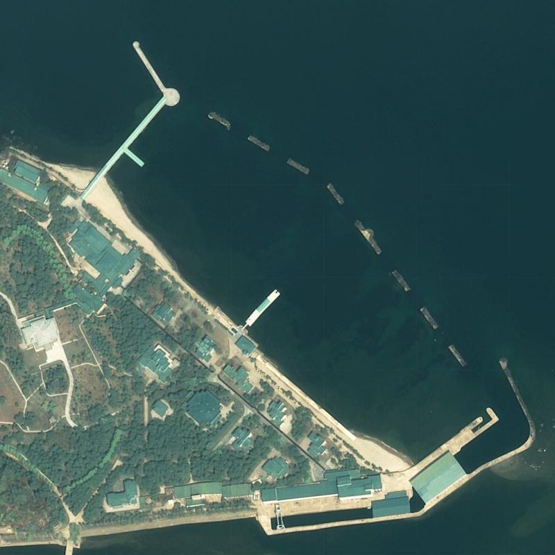 Satellite imagery shows Kim's luxury boats may have been used
