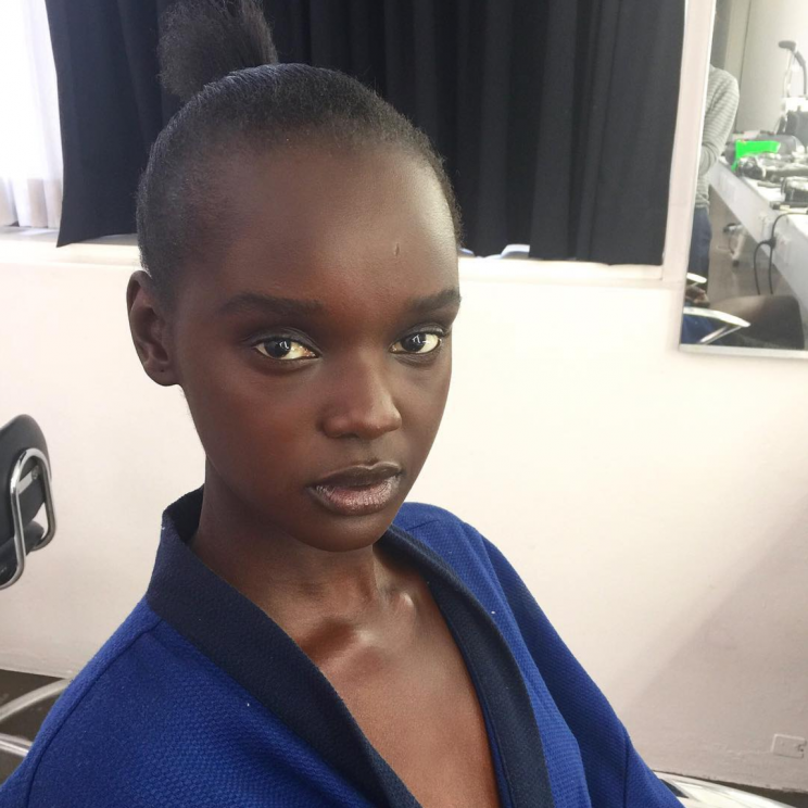 21-year-old model Nyadak Thot - professionally known as Duckie - took to Instagram to discuss hairstylists' lack of knowledge [Photo: Instagram/duckieofficial]