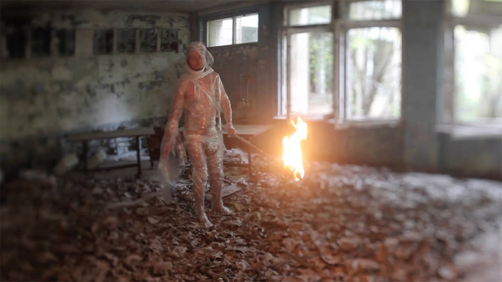 """<p>Ukrainian artist Fedor Alexandrovich was just a small boy when the Chernobyl nuclear reactor melted down, but the incident scarred him forever. In director Chad Gracia's thrilling documentary — an award winner at Sundance — he explores <a href=""""https://www.yahoo.com/movies/conspiracy-or-insanity-the-russian-woodpecker-193507494.html"""">a conspiracy theory</a> about what caused the disaster as the political situation in the former Soviet nation crumbles once again. —<i> Jordan Zakarin (</i>Photo Credit: Film Buff)</p>"""