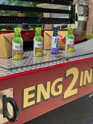Mountain Brook Fire Department and other Birmingham-area first responders received bottles of Red Diamond Coffee & Tea's popular Fitz™ Cold Brew Coffee and Fortify™ Cold Brew Tea.