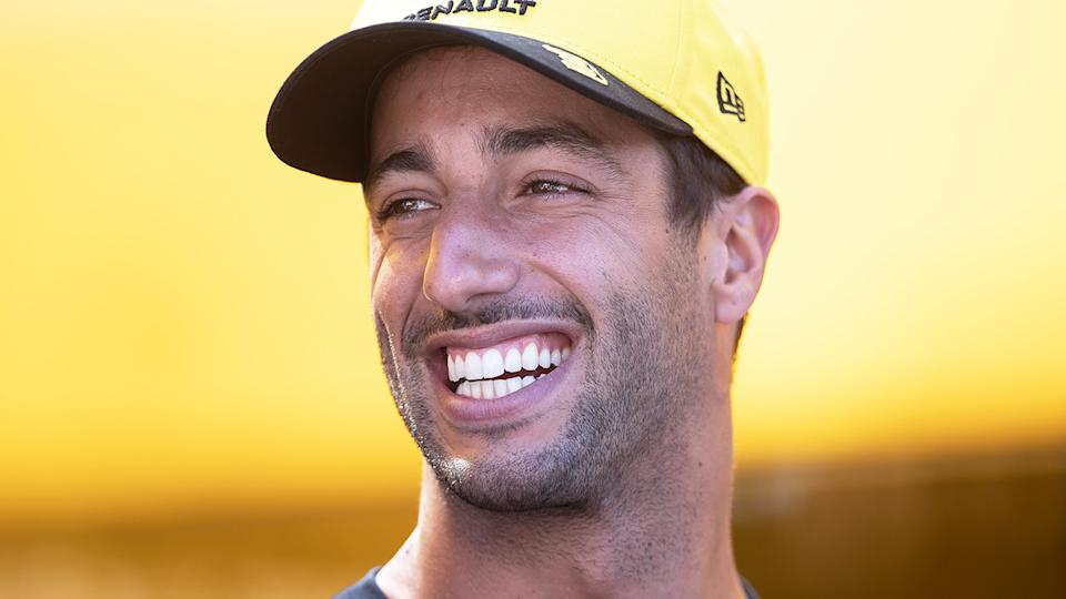 Australian F1 star Daniel Ricciardo is hoping the Australian Open can be a blueprint for the successful running of the Australian GP, scheduled for November. (Photo by Lars Baron/Getty Images)