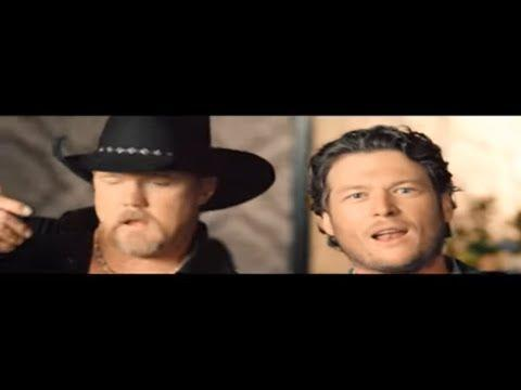 "<p>Blake Shelton and Trace Adkins sing about introducing a city friend to their country ways: ""Yeah I got a friend in New York City/He's never heard of Conway Twitty/Don't know nothing about grits and greens/Never been south of Queens.""</p><p><a href=""https://www.youtube.com/watch?v=OGoiiwxTWeE"" rel=""nofollow noopener"" target=""_blank"" data-ylk=""slk:See the original post on Youtube"" class=""link rapid-noclick-resp"">See the original post on Youtube</a></p>"