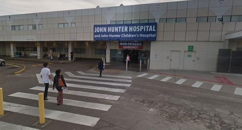 A nine-year-old girl was found to have consumed food with an illicit substance when she was presented to John Hunter Hospital on Monday. Source: Google Maps (file pic)