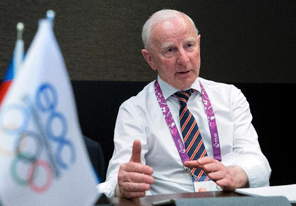 Patrick Hickey has stepped aside temporarily as president of both the OCI and the European Olympic Committees, as well as the decision-making executive board of the IOC (AFP Photo/Jack Guez)