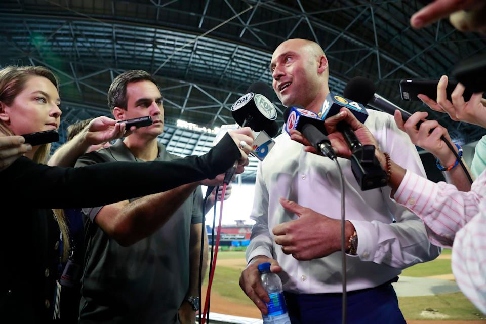 Derek Jeter says don't focus on wins and losses.