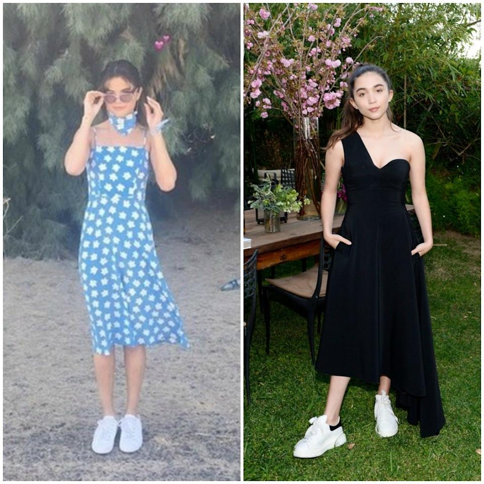 """<p>We are right on the brink of summer, peeps — you can practically taste balmy summer nights, lazy beach days and picnics in the park. And with April coming to a close, it's only natural that we start obsessing over all things <a rel=""""nofollow"""" href=""""http://www.teenvogue.com/gallery/selena-gomez-met-gala-red-carpet-best-looks?mbid=synd_yahooentertainment"""">summer fashion</a>. With some of our go-to girls like Selena, Yara, and Hailee stepping out in skin-baring, <a rel=""""nofollow"""" href=""""http://www.teenvogue.com/gallery/met-gala-red-carpet-best-dressed-looks?mbid=synd_yahooentertainment"""">spring-perfect dresses</a>, we getting all the more eager for the warm breezy days that are promised to be right around the corner. From full skirts to bodycons and wrap dresses, too, celebs have been sporting some killer frocks lately — and yes, it's officially given us summer fever. Ahead, check out some of our favorite looks.</p>"""