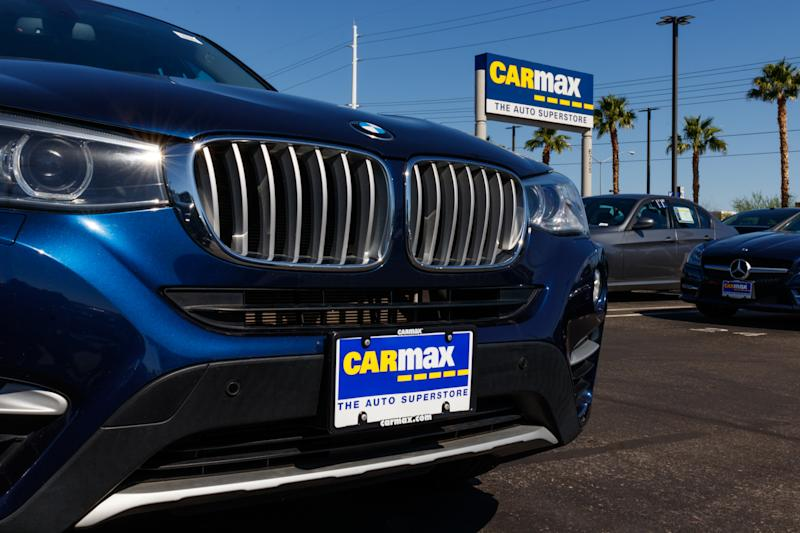 Las Vegas - Circa June 2019: CarMax Auto Dealership. CarMax is the largest used and pre-owned car retailer in the US IV