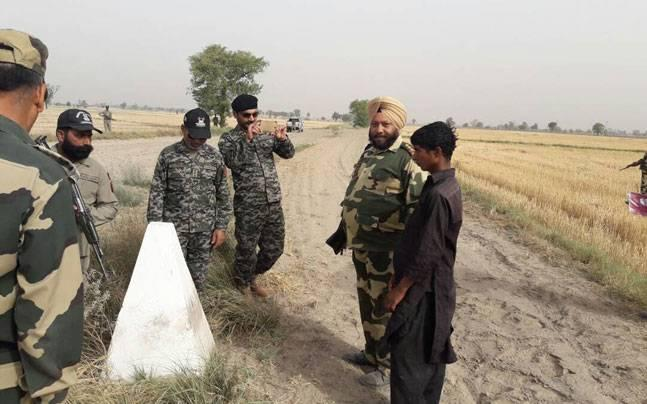 BSF lets Pakistan national, who unintentionally crossed over into Indian territory, return home