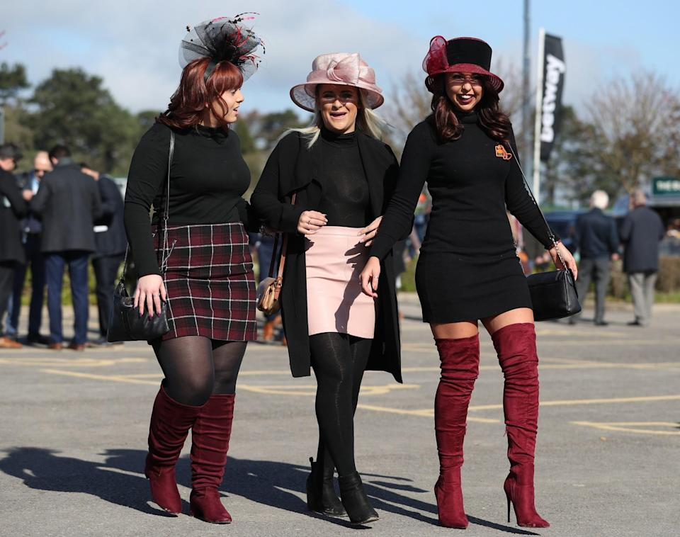 <p>If you're waiting for the opportunity to crack out those thigh-high suede boots, now's the time [Photo: PA] </p>