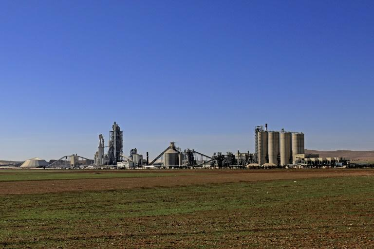 Lafarge kept its Syrian factory open even after other companies pulled out (AFP/Delil souleiman)