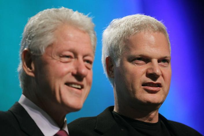 """Steve Bing was a friend of former U.S. President Bill Clinton and a major donor to the national Democratic Party and numerous progressive causes. <span class=""""copyright"""">(Mario Tama / Getty Images)</span>"""