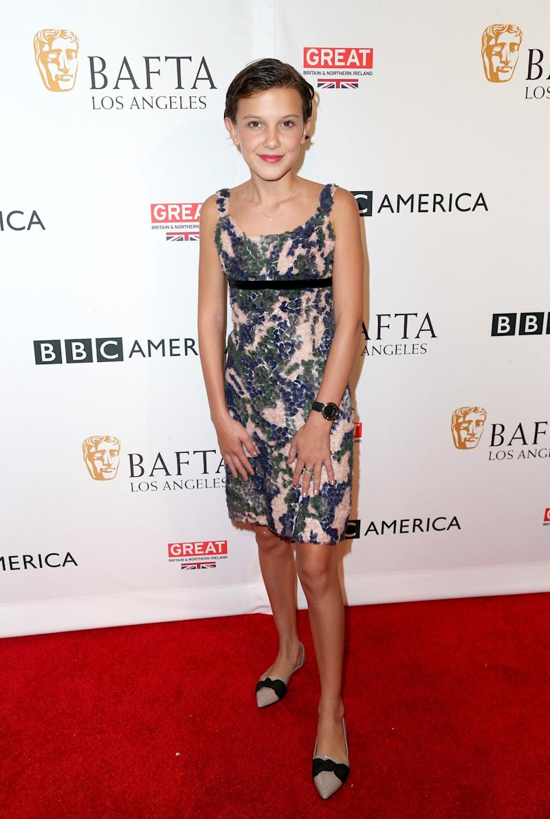 Millie Bobby Brown attends the BBC America BAFTA Los Angeles TV Tea Party 2016 at The London Hotel on September 17, 2016 in West Hollywood, California.