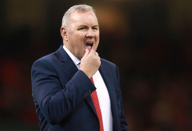 Wayne Pivac endured a difficult first year in charge of Wales