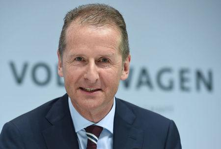 Volkswagen labour chief backs new CEO Diess to steer overhaul
