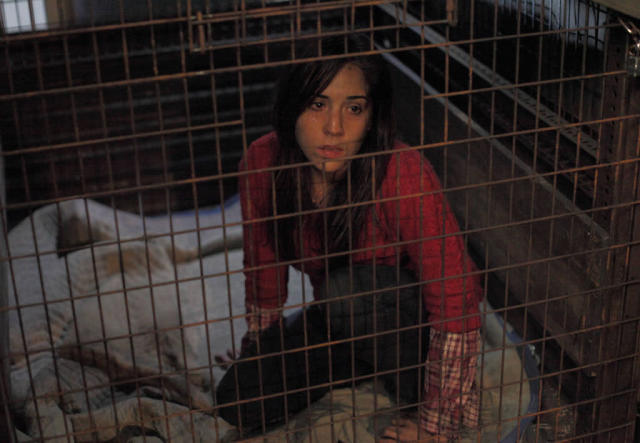 "A female victim (guest star Audrey Esparza) is used as leverage in the ""Let Me Go"" episode of ""The Following."""