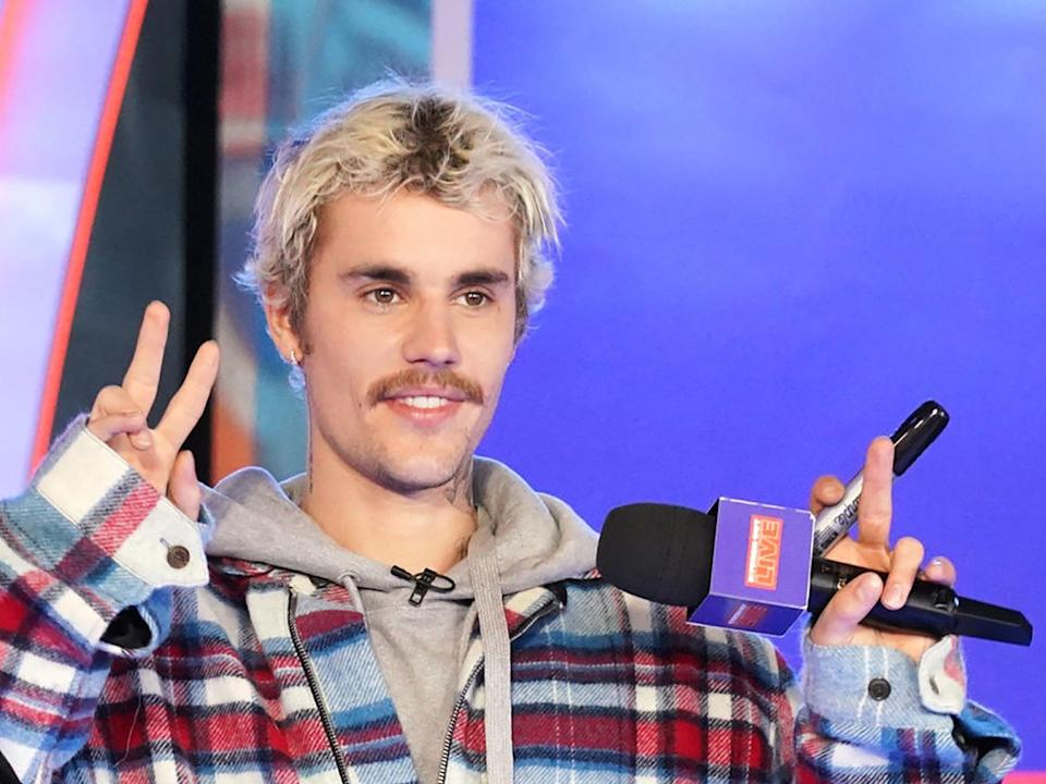 Justin Bieber in February (Cindy Ord/Getty Images)