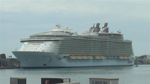 World39s Largest Cruise Ship Takes To The Water In France
