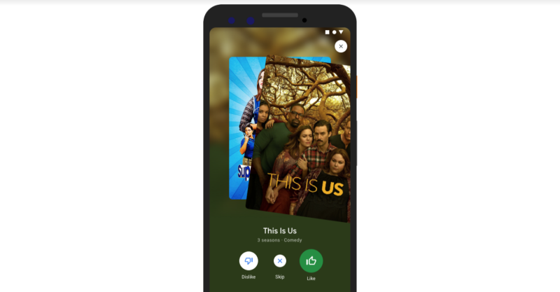 Google Revamps Movies & TV Show Search on Mobile