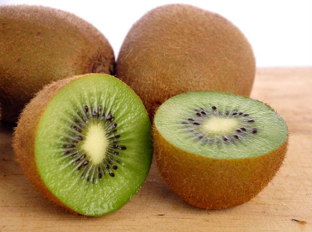 Kiwis contain more vitamin C than any other fruit. A lack of vitamin C can break down the collagen network in your gums, making them tender and susceptible to periodontal disease. A slice of kiwi a day can add that extra zing to your smile.