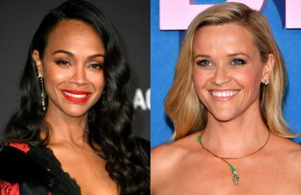 Zoe Saldana to Star on Netflix Limited Series 'From Scratch,' Will Produce With Reese Witherspoon