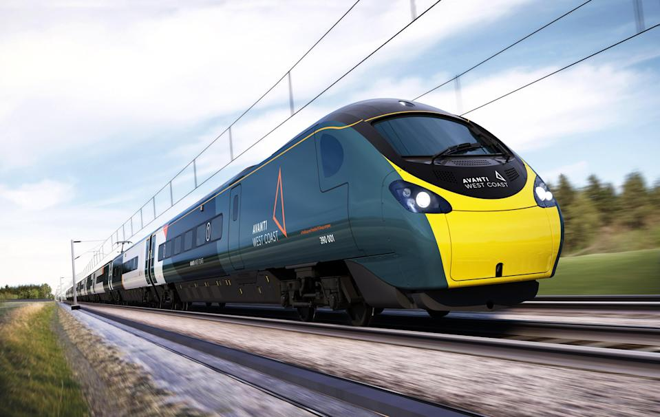 FirstGroup said its UK rail and bus business is recovering from the pandemic (Avanti West Coast/PA) (PA Media)