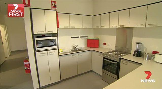 The kitchens. Source: 7News