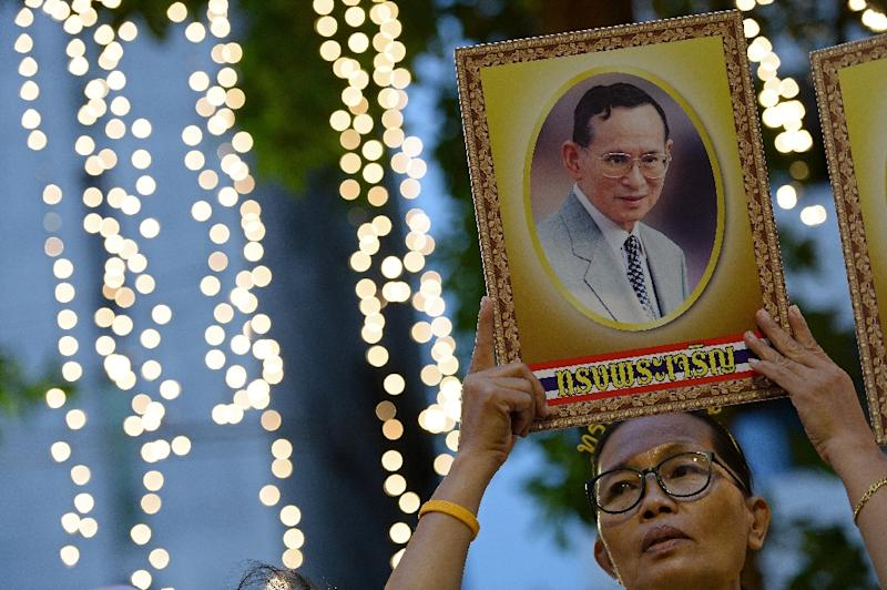 Thai King Bhumibol Adulyadej is the world's longest-reigning monarch (AFP Photo/Christophe Archambault)