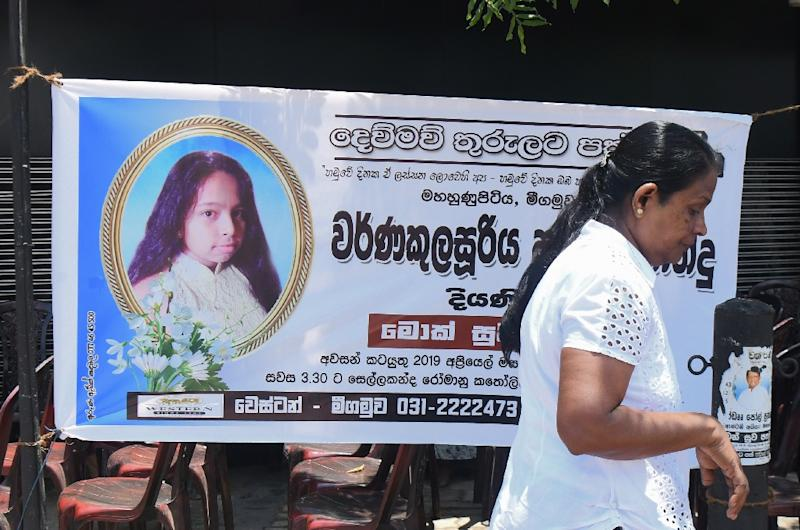 The blast at St Sebastian's is believed to be the single deadliest of all the Easter Sunday attacks (AFP Photo/LAKRUWAN WANNIARACHCHI)