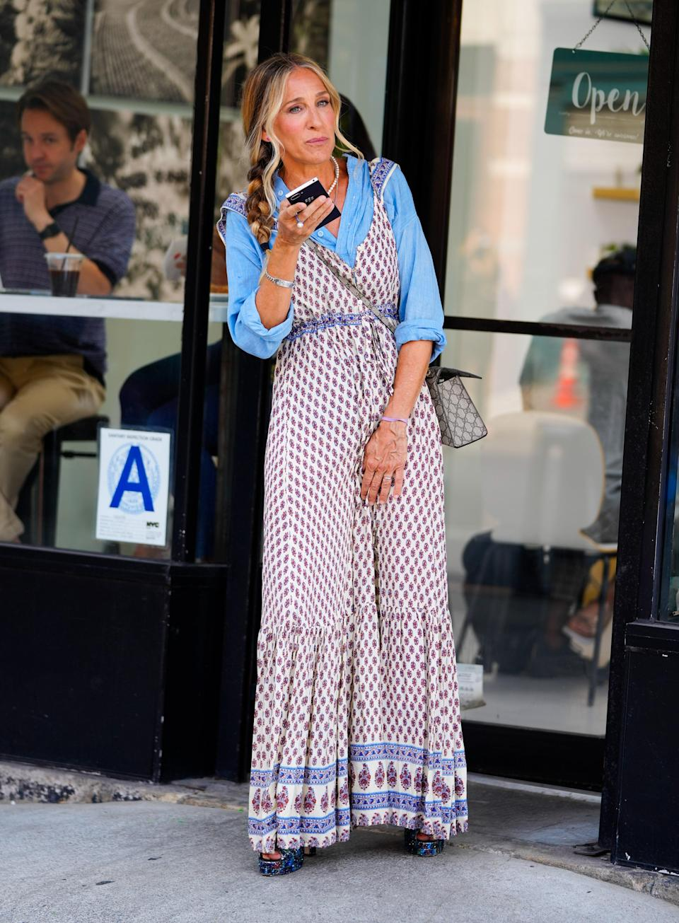 """<h1 class=""""title"""">Celebrity Sightings In New York City - July 27, 2021</h1><cite class=""""credit"""">Gotham, Getty Images</cite>"""