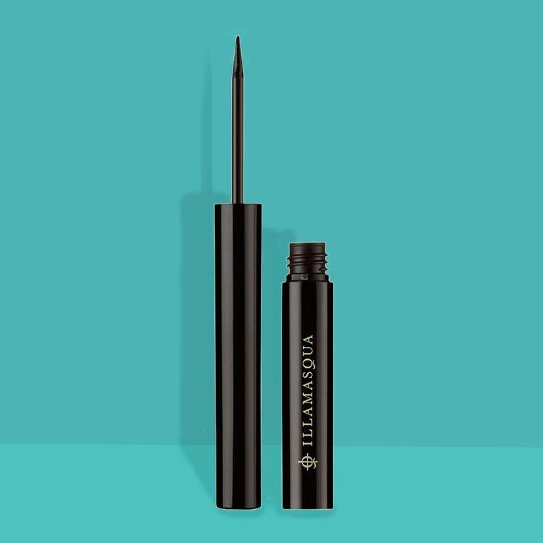 """<p><strong>Illamasqua</strong></p><p>amazon.com</p><p><strong>$22.40</strong></p><p><a href=""""http://www.amazon.com/dp/B004AW6MAG/"""" rel=""""nofollow noopener"""" target=""""_blank"""" data-ylk=""""slk:Shop Now"""" class=""""link rapid-noclick-resp"""">Shop Now</a></p><p>Ready to try it yourself? Lavonne used <strong>Illamasqua Precision Ink in Abyss</strong> here.</p>"""