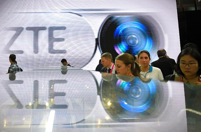 The US is barring exports of sensitive technology to Chinese telecom giant ZTE