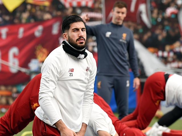 Emre Can has not played since suffering a back injury in March: Getty