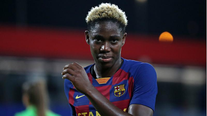 'The most important thing is to win' - Oshoala not thinking about scoring goals for Barcelona