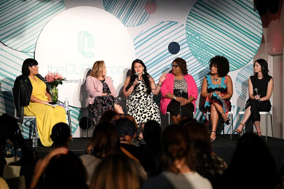 """The """"Dear Retailer"""" panelists discuss issues for plus-size retailers and consumers. (Photo: Getty Images)"""