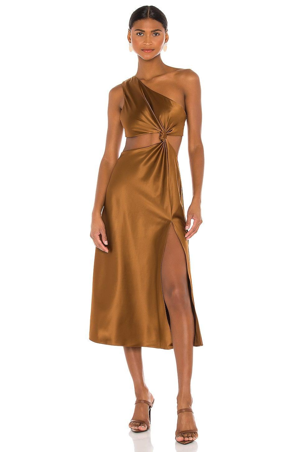 <p>Make this season as festive as possible with this <span>LPA Imani Dress</span> ($198).</p>
