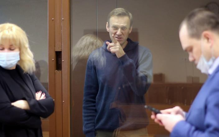 Alexei Navalny has been behind bars since his returned to Russia from Germany in mid-January - EPA-EFE/EPA-EFE