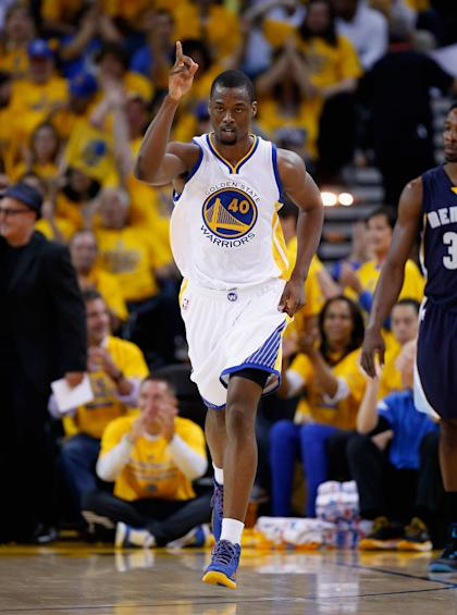 Will the Warriors lock up Harrison Barnes before the extension deadline? (Ezra Shaw/Getty Images)