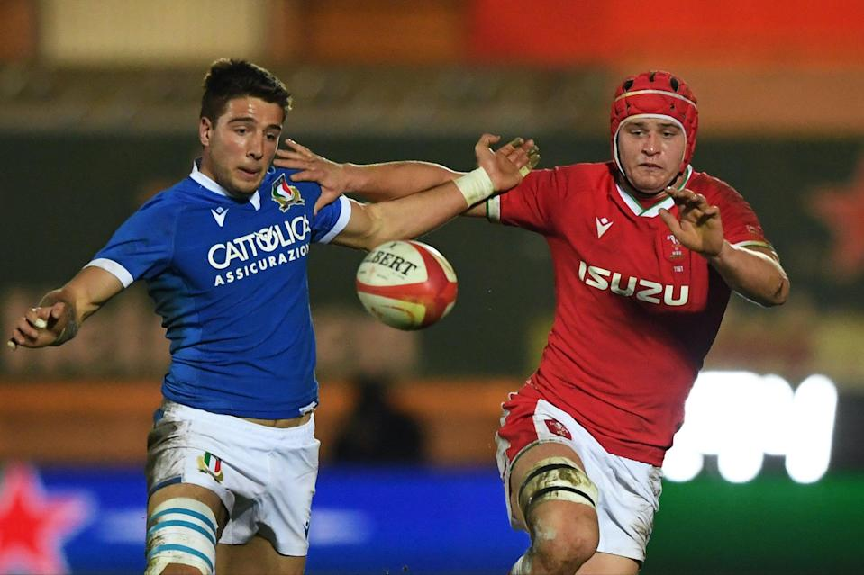 James Botham playing for Wales against Italy last yearGetty Images