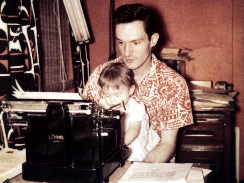 "Dual LivesAs he worked tirelessly to launch Playboy, Hef (here in 1953) was ""an absent dad"" to children Christie, now 63, and David, now 60 (with first wife Millie), he confesses."