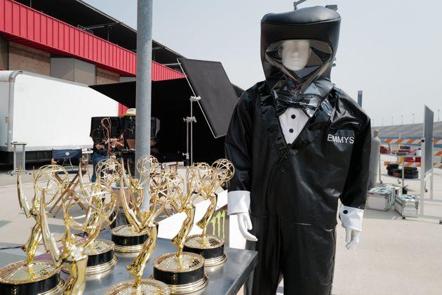 The first-ever virtual Emmy Awards kicked off on Sunday.
