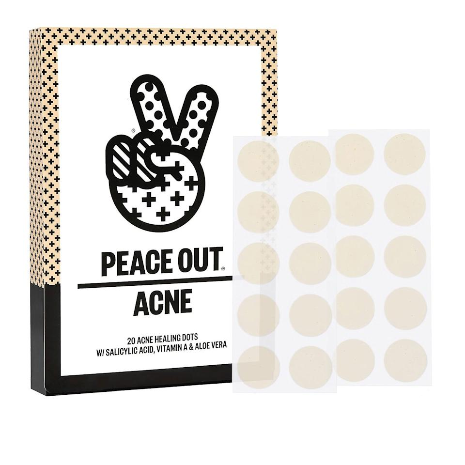 <p>What makes these cult-favorite hydrocolloid stickers so good, they're known for selling out? Peace Out's patches are infused with acne-fighting ingredient salicylic acid, pore-clearing vitamin A, and redness-minimzing aloe vera. If you want a patch that'll treat blemishes and prevent them from getting infected, these ones are your best bet. </p>