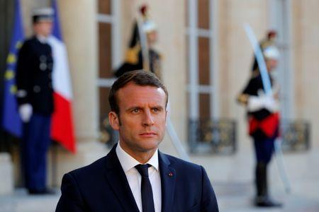 France's Macron to meet Italian PM on Sunday