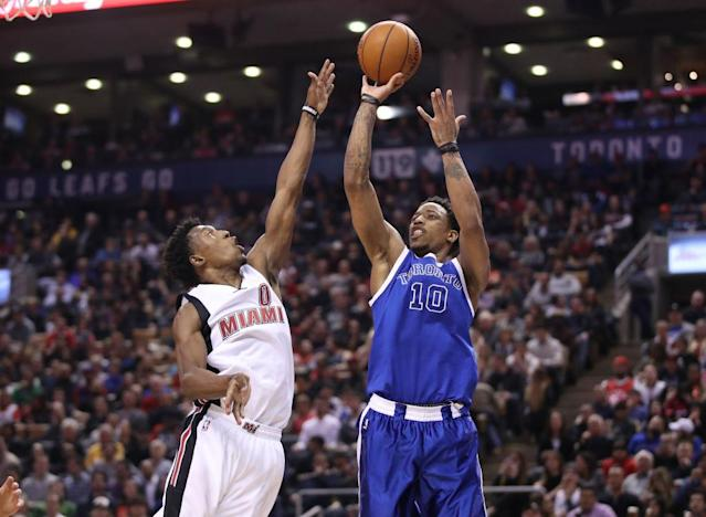 DeMar DeRozan had the best year of his career by draining tough jumpers over good contests. (Getty Images)